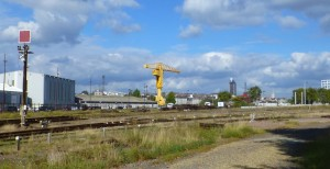 Emprise ferroviare recadrée